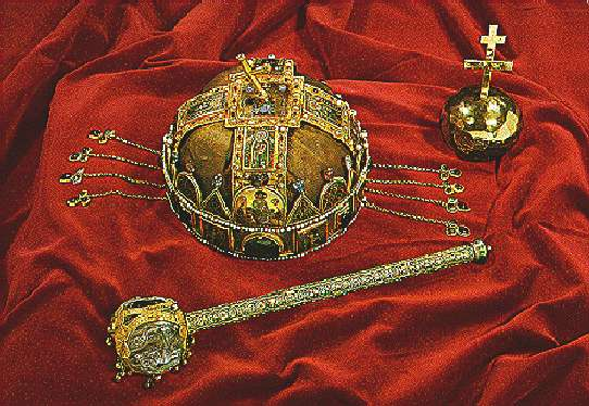Hungarian Coronation jewelry